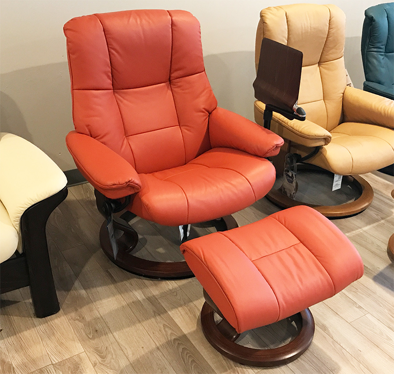 Amazing Stressless Paloma Henna Leather By Ekornes Stressless Bralicious Painted Fabric Chair Ideas Braliciousco