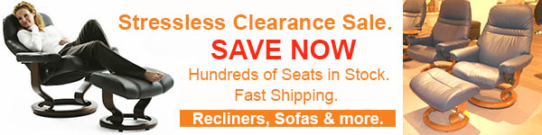 Stressless Discount Sale - Recliners, Sofas, Chairs, Tables and More