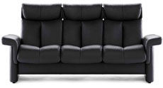 Stressless Legand High Back Sofa, LoveSeat, Chair and Sectional by Ekornes