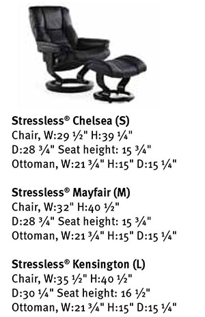 Superb Stressless Mayfair Leather Recliner Classic Wood Base Chair And Ottoman Pdpeps Interior Chair Design Pdpepsorg